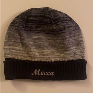 Mecca winter beanie hat for sale.Vintage